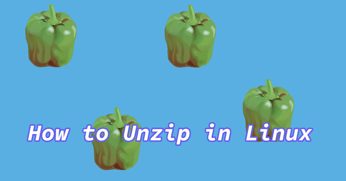 How to unzip a zip Archive in Linux (CLI & GUI)